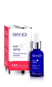 BANDI MEDICAL EXPERT ANTI AGING ANTI WRINKLE CONCENTRATED AMPOULE WITH 0,4% RETINOL 30ml