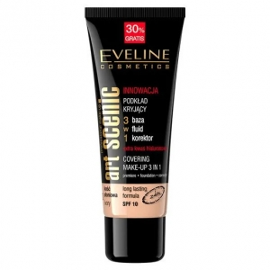 EVELINE ART SENIC PROFESSIONAL MAKE-UP COVERING FOUNDATION 3IN1