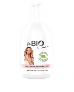 BE BIO COSMETIQS BY EWA CHODAKOWSKA LOTION CHIA & JAPANESE CHERRY BLOSSOM 400ml