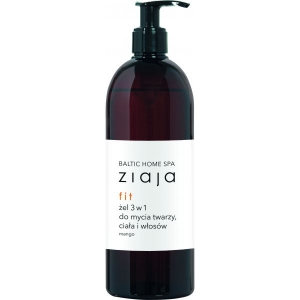 ZIAJA BALTIC HOME SPA FIT 3 IN 1 GEL WASH FOR FACE , BODY AND HAIR
