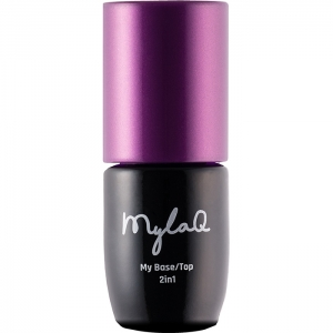 MYLAQ GEL POLISH UV LED BASE/TOP 2IN1 BAZA/TOP 5ml