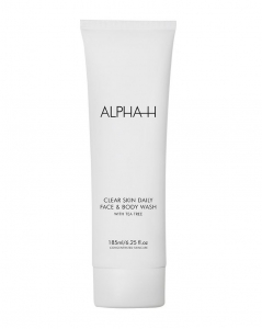 ALPHA-H CLEAR SKIN DAILY FACE&BODY WASH 185ml