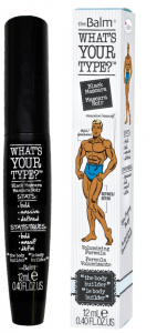 theBALM WHAT'S YOUR TYPE BODY BUILDER BLACK MASCARA