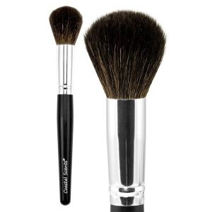 COASTAL SCENTS CLASSIC LARGE POWDER NATURAL BRUSH