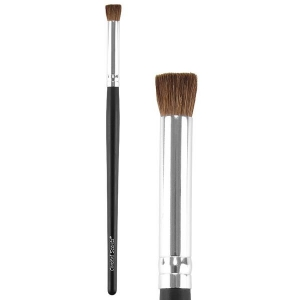 COASTAL SCENTS CLASSIC FLAT TOP SHADOW NATURAL BRUSH
