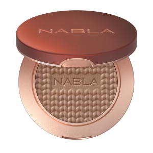 NABLA COSMETICS SHADE&GLOW BRONZER  IN A REFILLABLE COMPACT PACKAGING