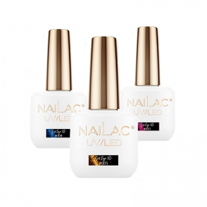 NAILAC HYBRID GEL POLISH UV LED CAT EYE 5D 7ML
