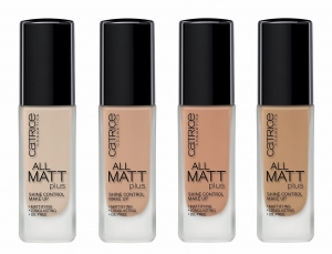 CATRICE ALL MATT PLUS SHINE CONTROL MAKE UP FOUNDATION