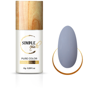 SIMPLE NAILS UV/LED GEL POLISH PURE COLOR CITY DUST