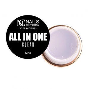 NAILS COMPANY NAIL GEL ALL IS ONE CLEAR 15g