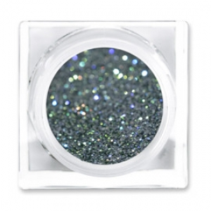 LIT COSMETICS COLOURS EYESHADOW GLITTER JAR COMBAT ROCK