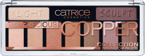 CATRICE EYESHADOW THE PRECIOUS COPPER COLLECTION PALETTE