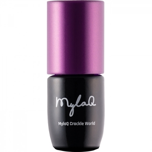 MYLAQ GEL POLISH UV LED WHITE BASE FOR CRACKLE 5ml