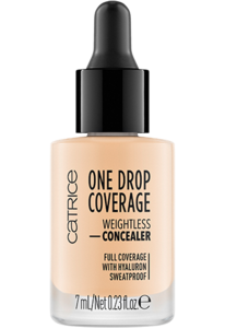 CATRICE ONE DROP COVERAGE CONCEALER WEIGHTLESS FULL COVERAGE
