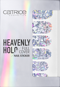 CATRICE HEAVENLY HOLO FULL COVER NAIL STICKER