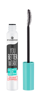 ESSENCE YOU BETTER WORK! VOLUME&CURL MASCARA