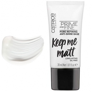 CATRICE PRIME AND FINE PORE REFINING ANTI-SHINE BASE KEEP ME MATT