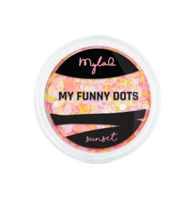MYLAQ NAIL DECORATIONS MY FUNNY DOTS