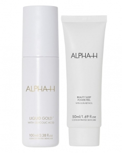 ALPHA-H LIQUID GOLD & POWER PEEL DUO