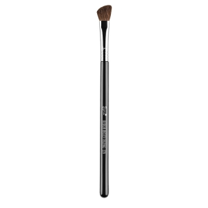 SIGMA BEAUTY MEDIUM ANGLED SHADING BRUSH CHROME FERRULE E70