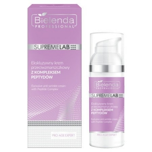 BIELENDA SUPERMELAB PRO AGE EXPERT EXCLUSIVE ANTI-WRINKLE CREAM WITH PEPTIDE COMPLEX 50ML