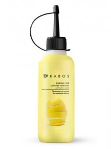 KABOS EXPRESS NAIL CUTICLES REMOVER WITH LEMON SCENT 85ML