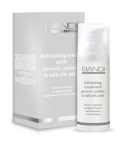 BANDI EXFOLIATING CREAM WITH PYRUVIC, AZELAIC AND SALICYLIC ACID