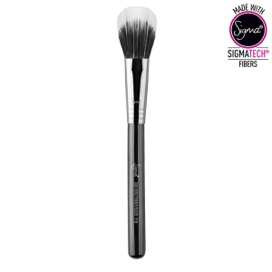 SIGMA BEAUTY DUO FIBRE POWDER/BLUSH BRUSH F15