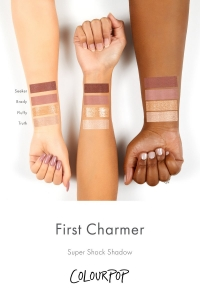 COLOURPOP FIRST CHARMER FOURSOME EYESHADOW PALETTE