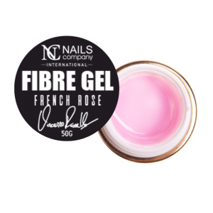 NAILS COMPANY FIBRE GEL VINCENTO RUSELLO FRENCH ROSE