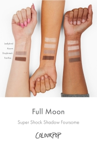 COLOURPOP FULL MOON FOURSOME EYESHADOW PALETTE