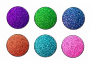 GLITTER INJECTIONS ROUND PRESSED GLITTERS EYESHADOW