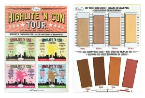 theBALM HIGHLITE 'N CON TOUR HIGHLIGHT& CONTOUR PALETTE