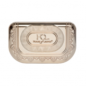 HOUSE OF LASHES PRECIOUS GEM LASH CASE CHAMPAGNE GOLD QUARTZ
