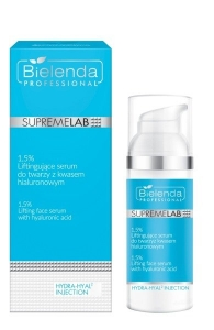 BIELENDA SUPREMELAB HYDRA-HYAL2 INJECTION 1.5% LIFTING FACE SERUM WITH HYALURONIC ACID 50G