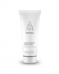 ALPHA-H MICRO CLEANSE SUPER SCRUB WITH GLYCOLIC ACID & PEPPERMINT