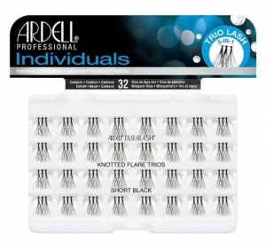 ARDELL LASHES INDIVIDUALS SHORT BLACK 32szt