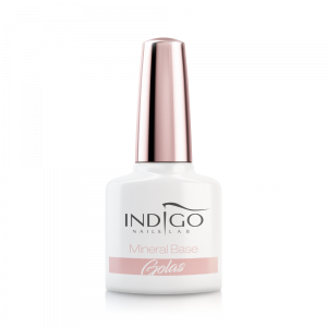 INDIGO GEL POLISH UV LED MINERAL BASE - GOLAS