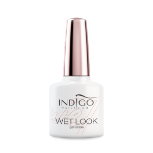 INDIGO NAILS GEL POLISH UV LED  WET LOOK TOP 7ml
