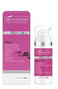 BIELENDA SUPREMELAB ESSENCE OF ASIA GLOW FACE CREAM WITH JAPANESE CAMOON OIL SPF 20 50ML