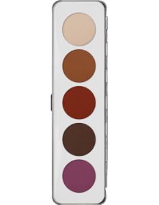 KRYOLAN EYE SHADOW PALETTE 5 COLORS MATT