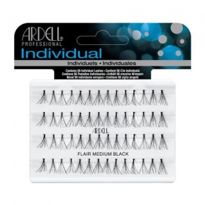ARDELL LASHES INDIVIDUAL DURALASH FLARE MEDIUM BLACK