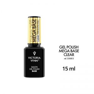 VICTORIA VYNN GEL POLISH UV LED MEGA BASE CLEAR 15ml