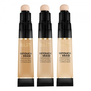 MILANI COSMETICS RETOUCH +ERASE LIGHT-LIFTING CONCEALER