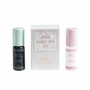 HOUSE OF LASHES MINI ADHESIVE GLUE SET CLEAR&DARK