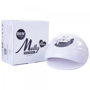 MOLLY LAC LAMP UV / LED 86W MOLLYLUX WHITE INFINITY