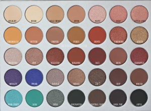 MORPHE BRUSHES & THE JACLYN HIILL EYESHADOW PALETTE 35 DREAM COLORS