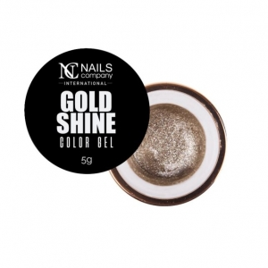 NAILS COMPANY COLOR GEL - GOLD SHINE 5G