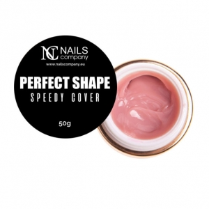 NAILS COMPANY NAIL GEL PERFECT SHAPE - SPEEDY COVER
