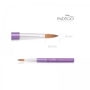 INDIGO NAILS ACRYLIC BRUSH NO 8 KOLINSKY VOILET